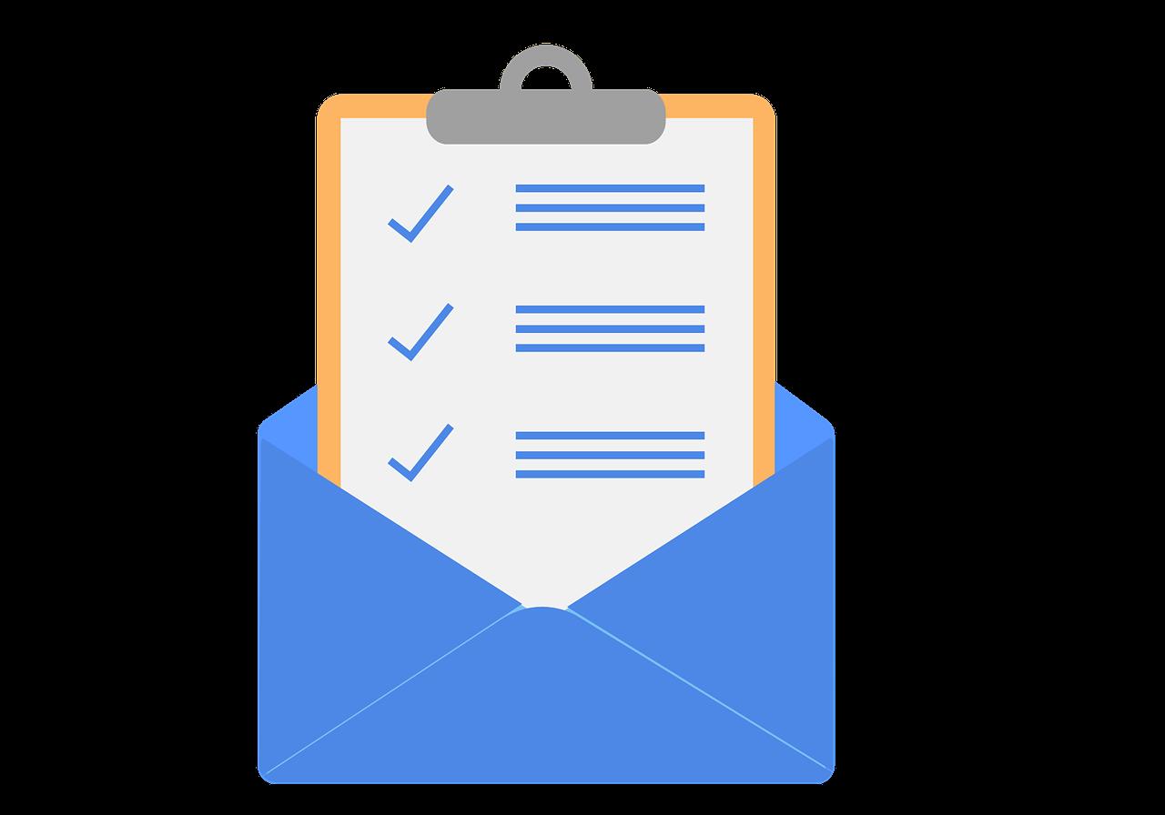 E-Mail-Liste aufbauen